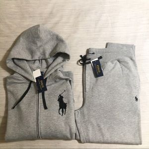 Polo Ralph Lauren Tech Fleece Jogger Suit🔥😳🔥